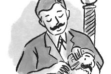 Vintage Barber Illustration