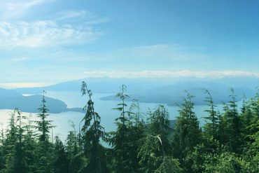 View from Vancouver Hike