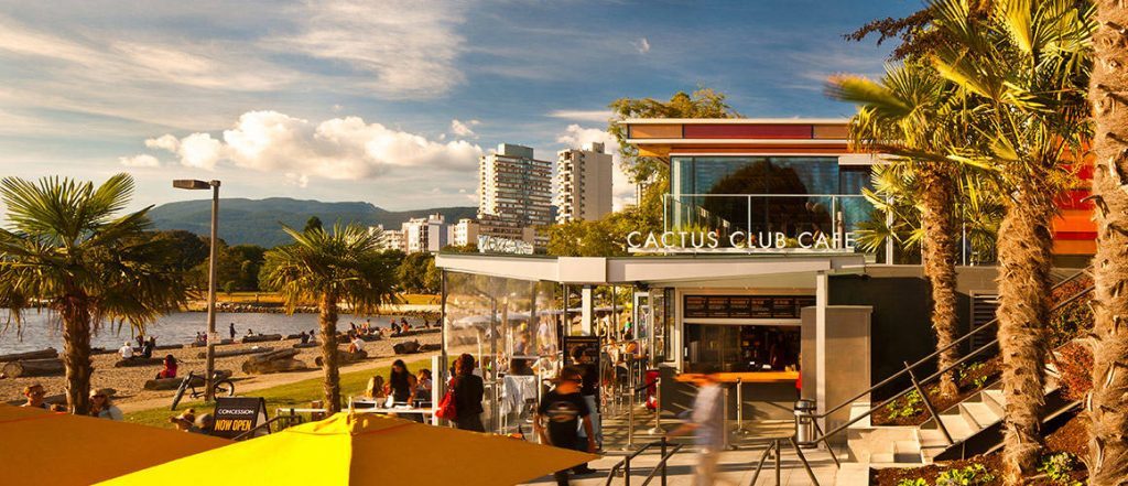 Cactus Club English Bay Vancouver Outdoor Seating