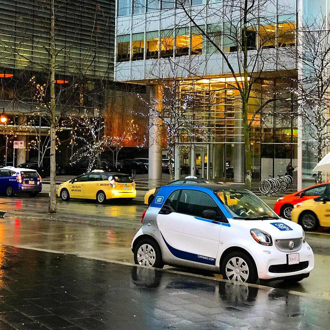 Car2Go Smart Fortwo in Downtown Vancouver