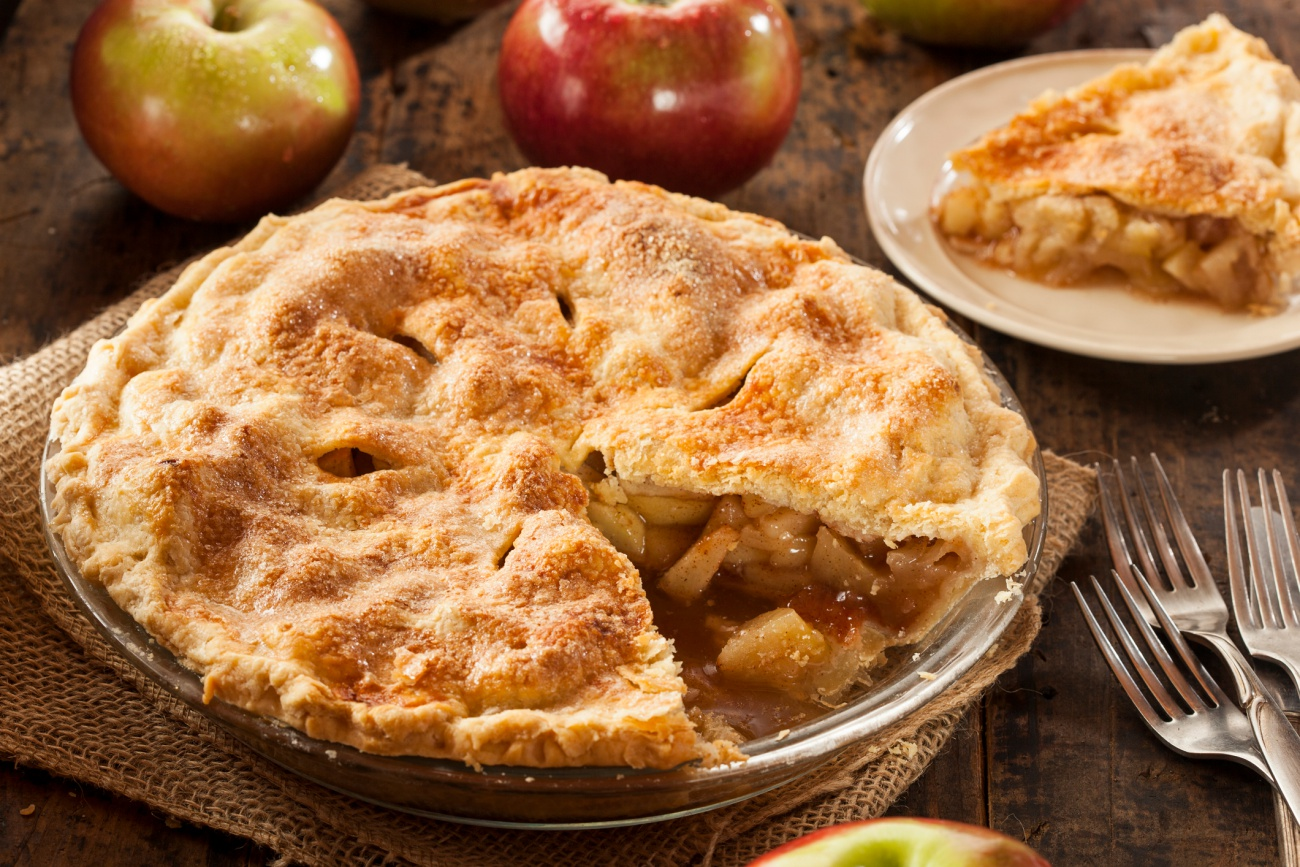Apple Pie Baking