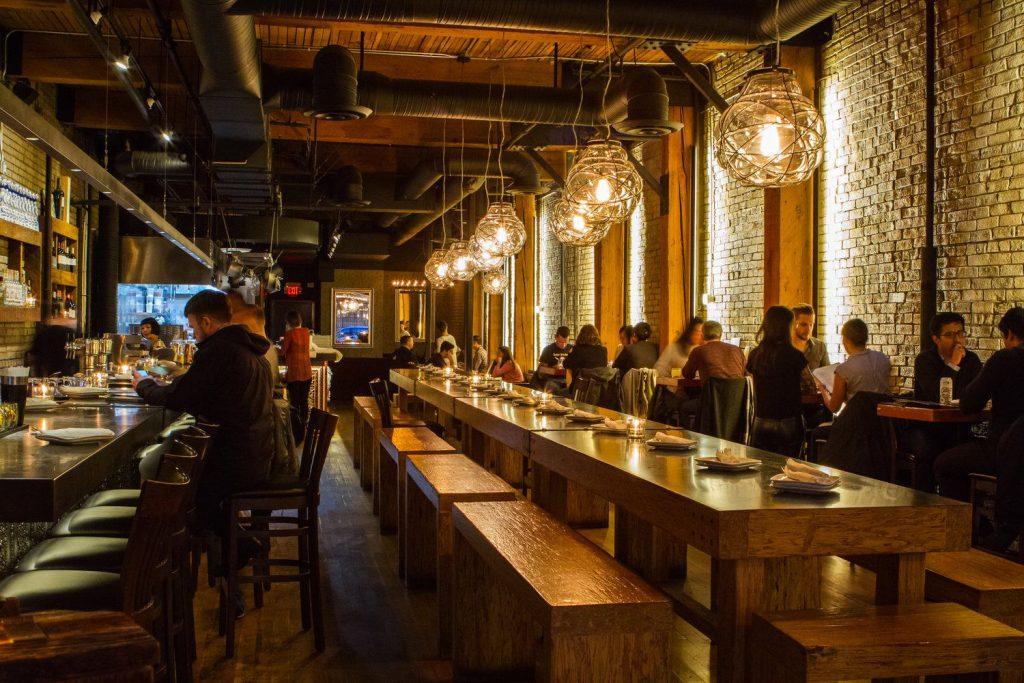 Chuchillo Restaurant Vancouver Interior