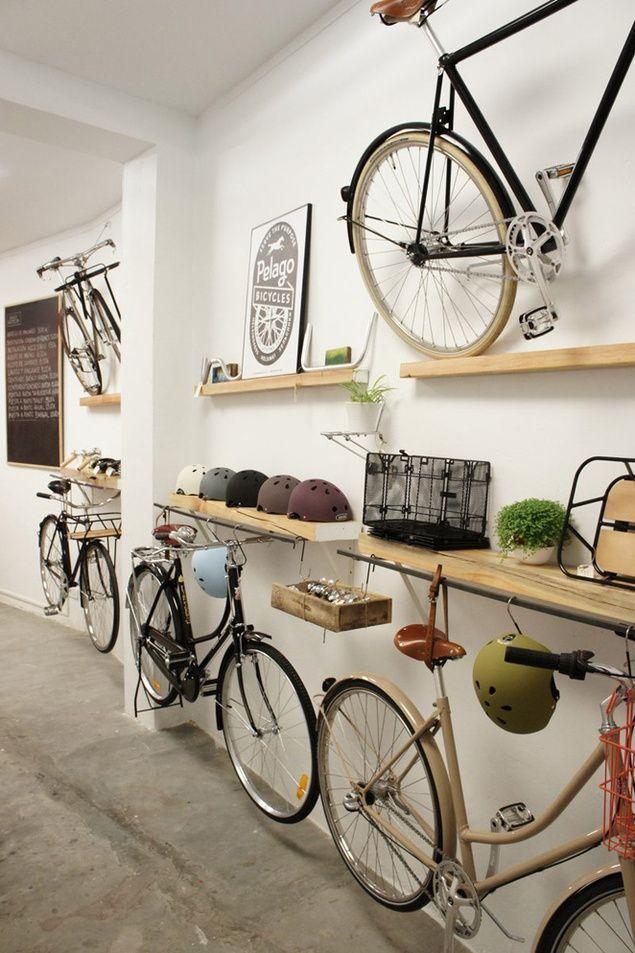Apartment Hallway Bike Storage