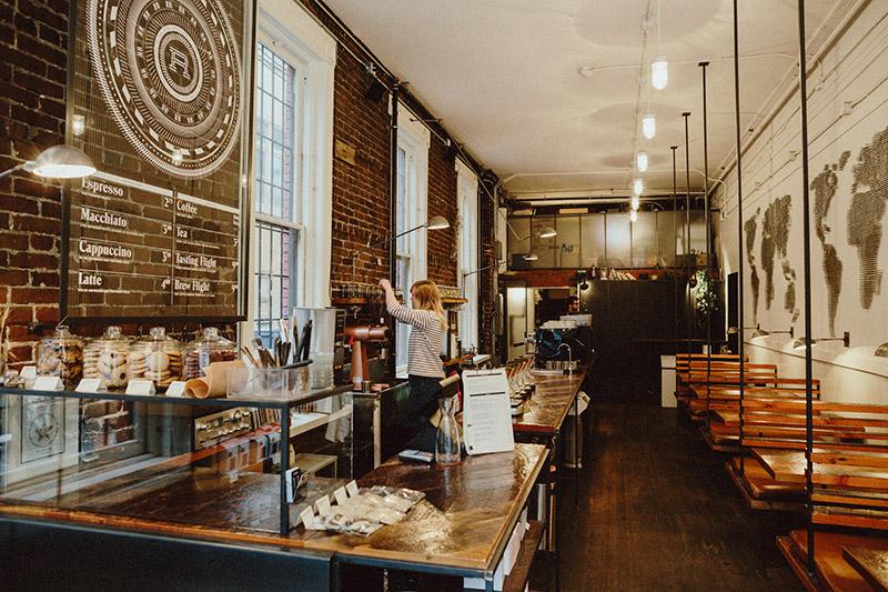 Revolver Coffee Shop Vancouver