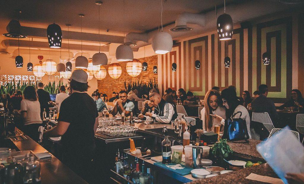 Tacofino Taco Bar Interior Vancouver
