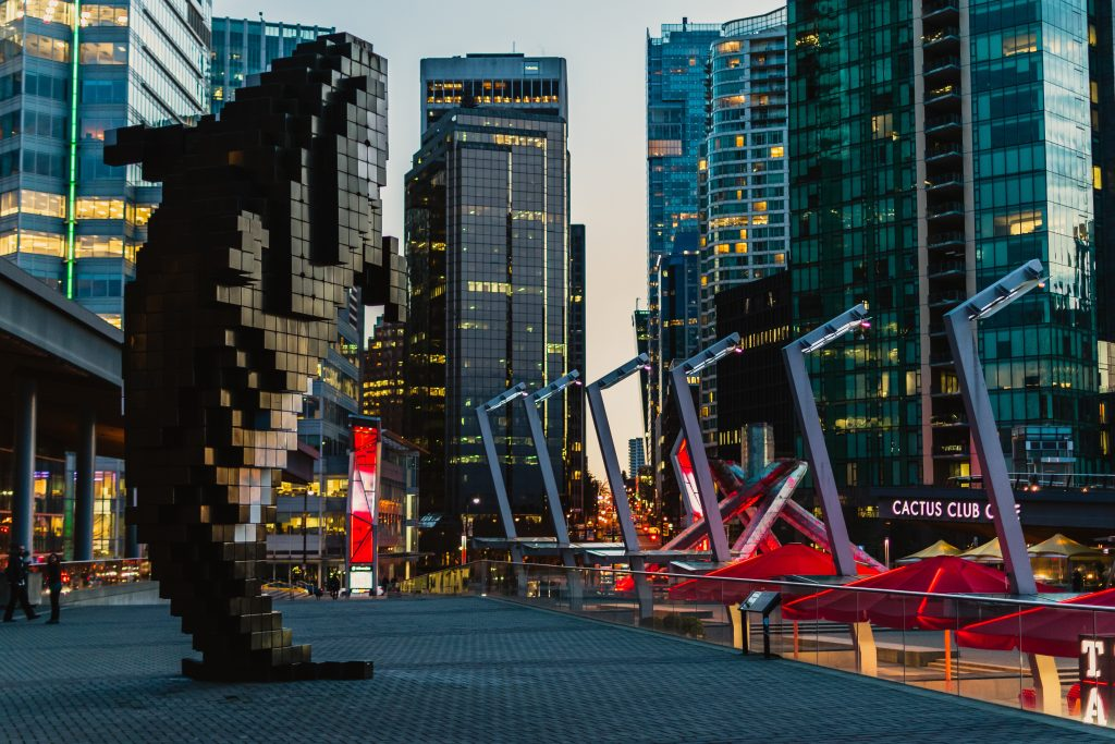 BC Place Whale Statue