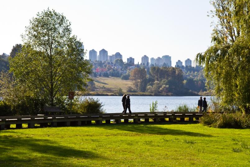 Deer Lake Park Vancouver
