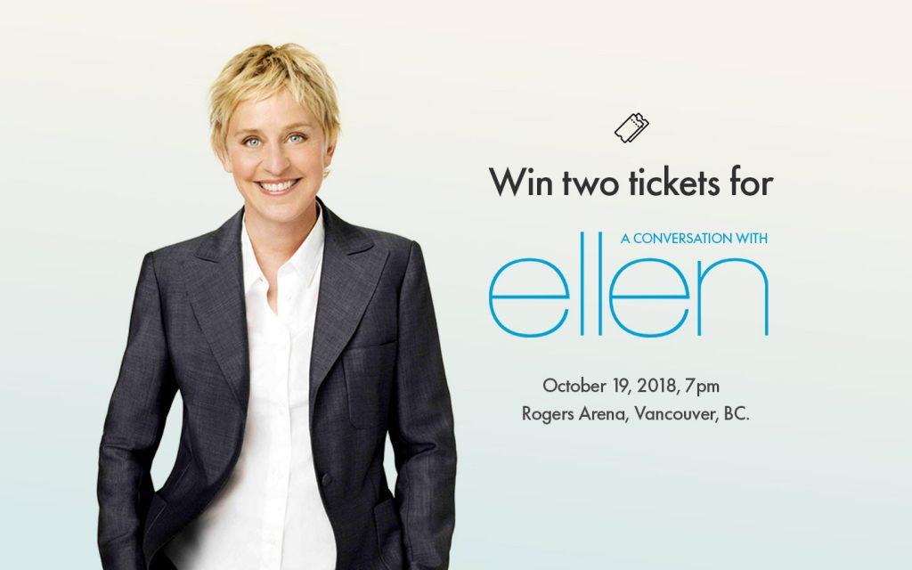 Liv Rent Ellen Contest Banner