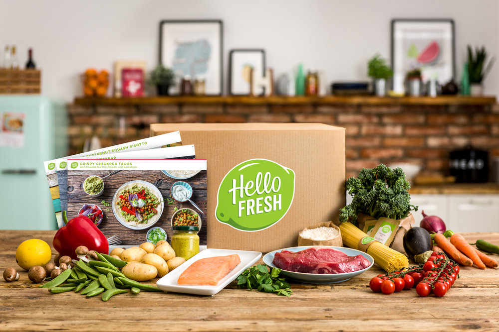 Hello Fresh Meal Prep Delivery Vancouver