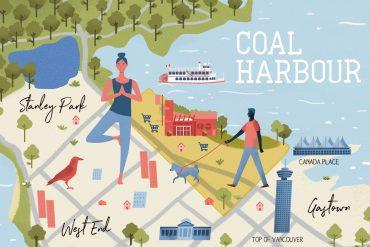 Coal Harbour Neighbourhood Guide Map