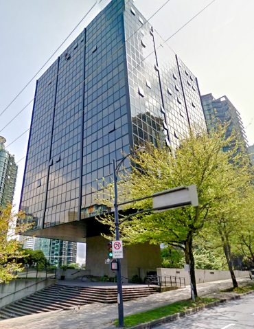 Condo for Rent in The Qube 1333 W Georgia St Vancouver Exterior