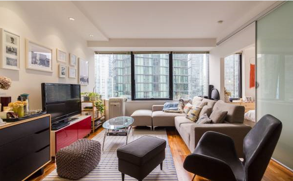 Apartment for Rent in The Qube 1333 W Georgia St Vancouver