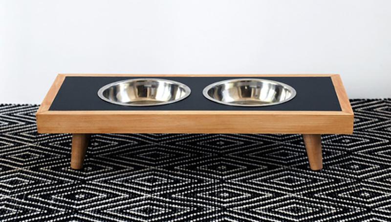 Curbly Modern Dog Bowls