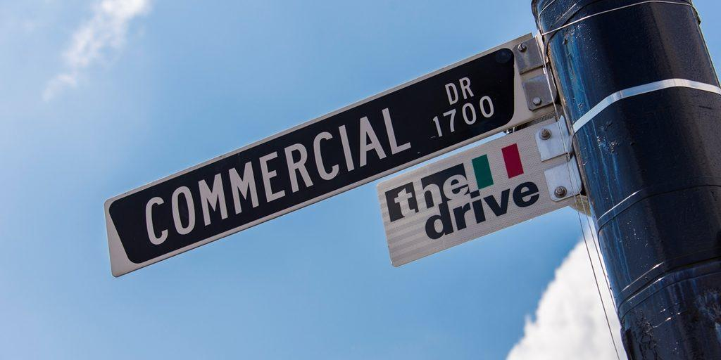 Commercial Drive Street Sign Vancovuer
