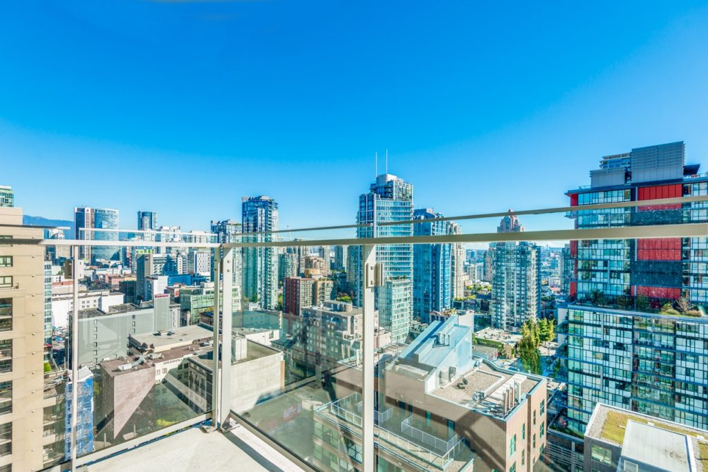 View from Apartment Balcony in Vancouver