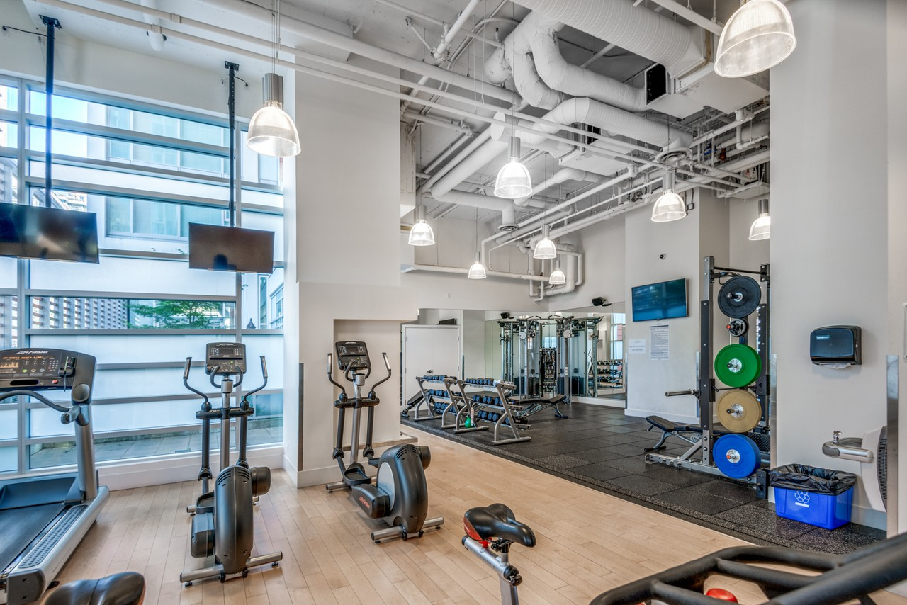 The Maddox Vancouver Apartment Gym