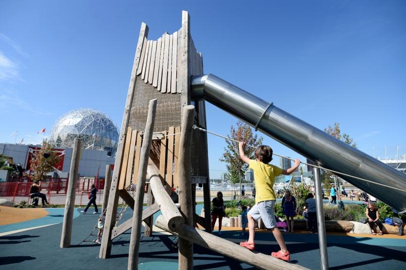 Playground Near Vancouver Science World