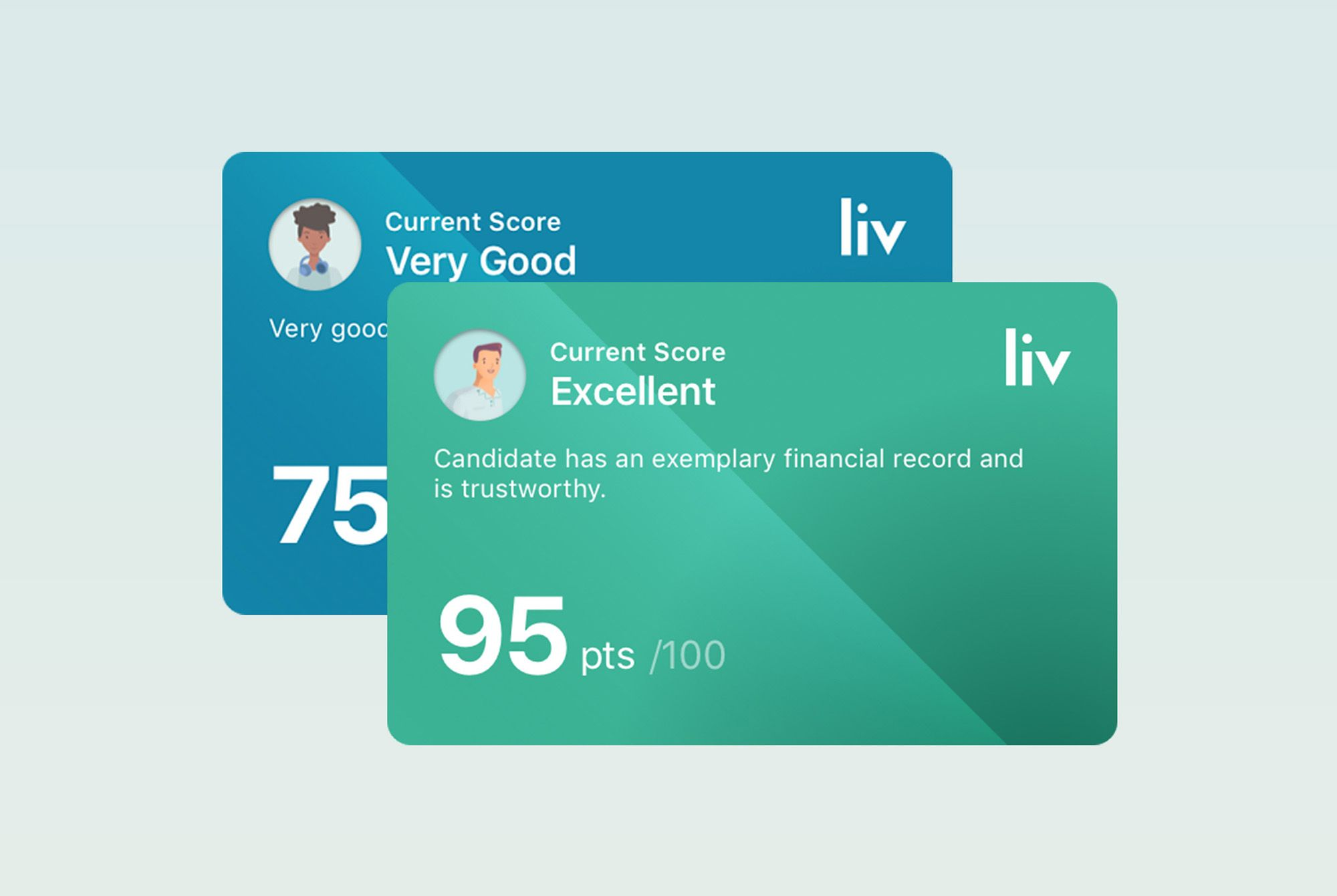 Liv Score Card Examples