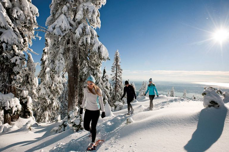 Grouse Mountain Snowshoe Grind