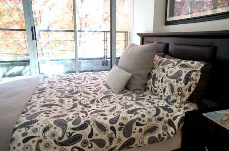 Apartment For Rent Elan 1255 Seymour Vancouver - Bedroom