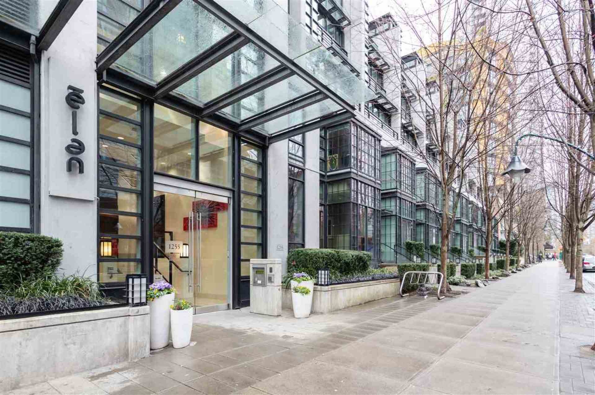 Apartment For Rent Elan 1255 Seymour Vancouver - Exterior