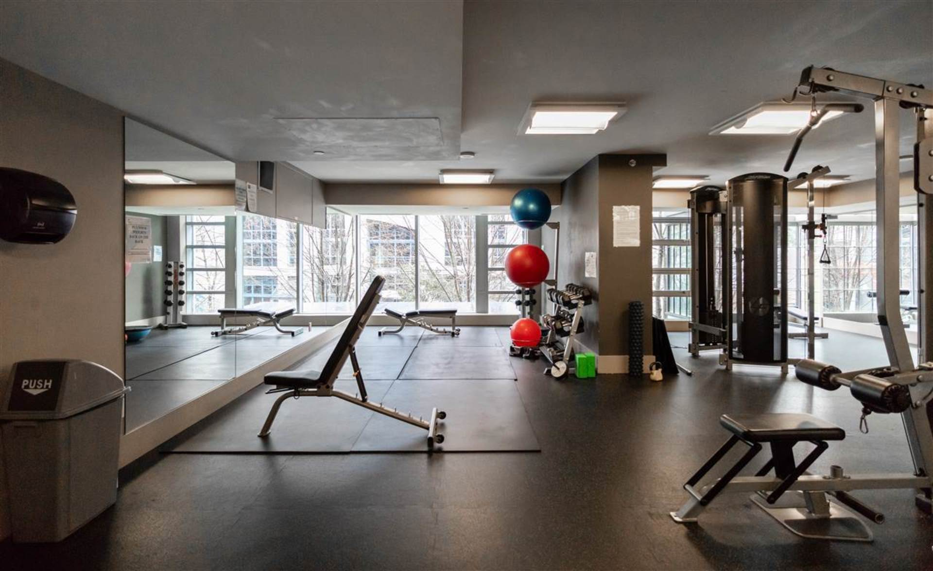 Apartment For Rent Elan 1255 Seymour Vancouver - In Building Gym