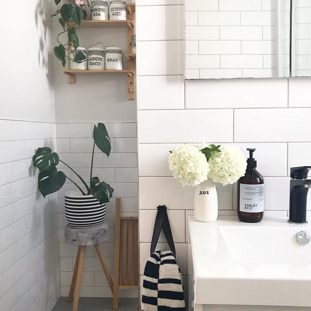 Modern Bathroom Organization