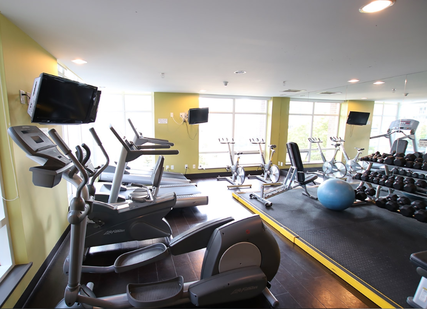 Dolce 535 Smithe Downtown Vancouver Gym
