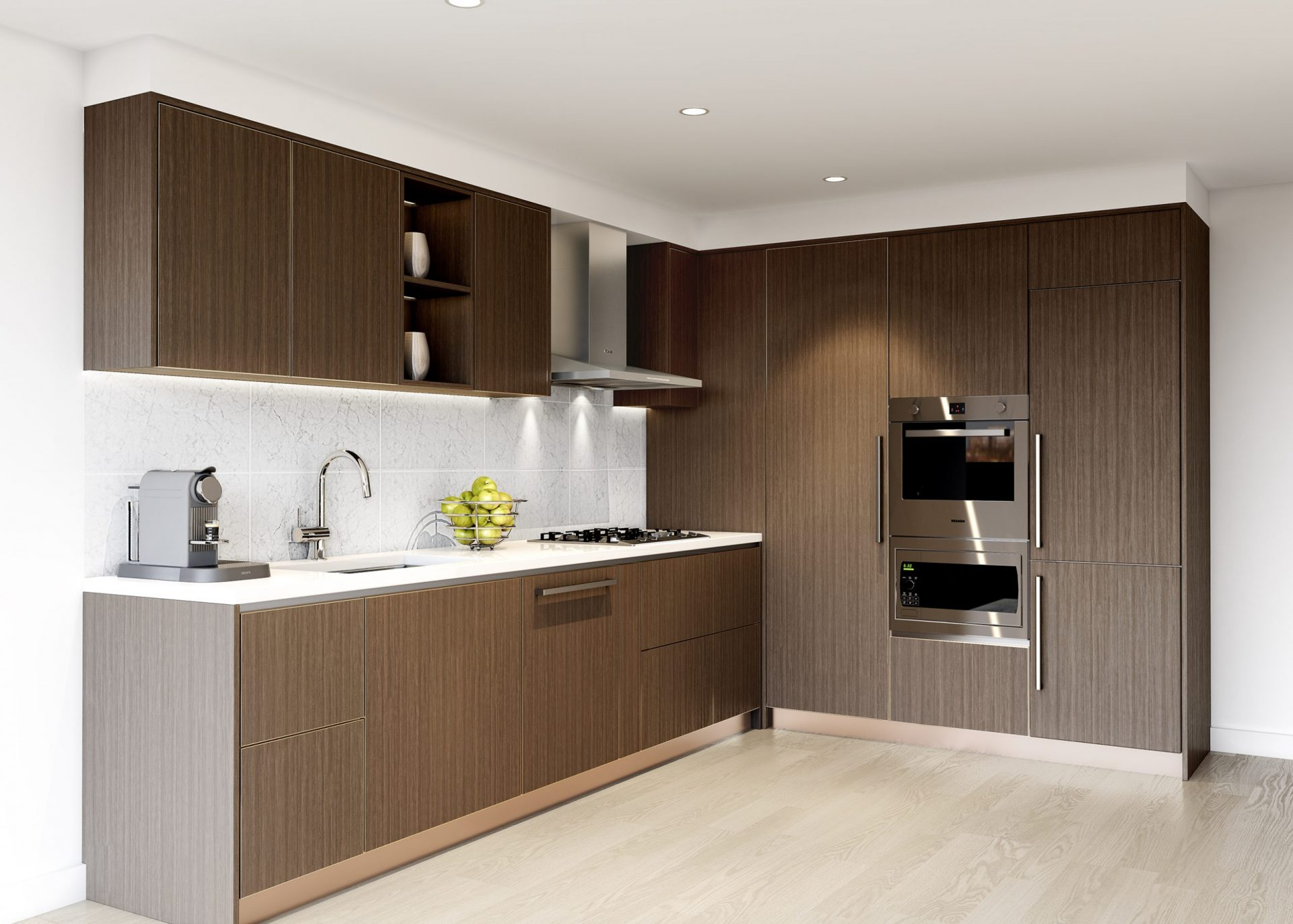 W1 Marine and Cambie Rentals Kitchen