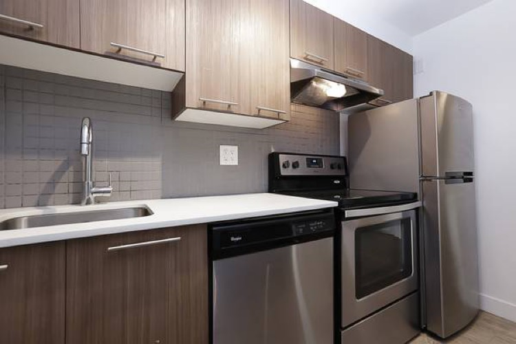 Vancouver Apartment for Rent Kitchen