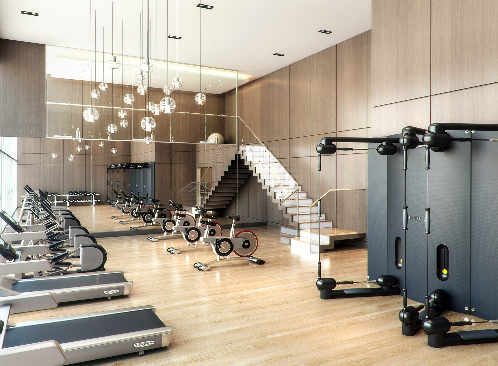 Awesome Apartment Amenities - Gym