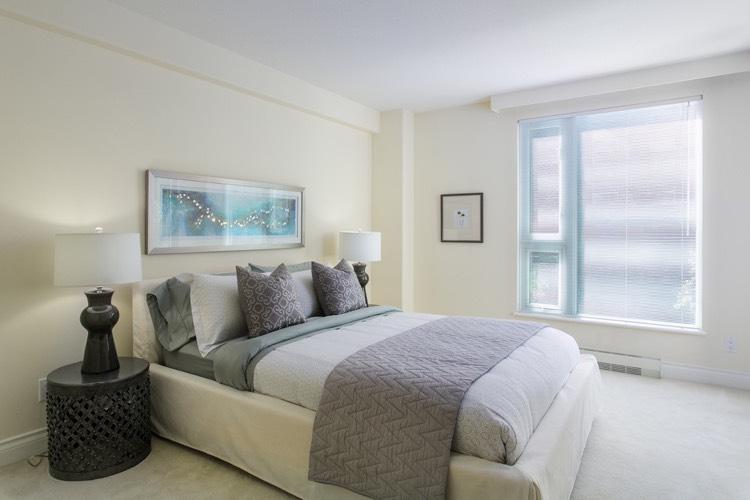 Bauhinia 535 Nicola Street Condo Bedroom