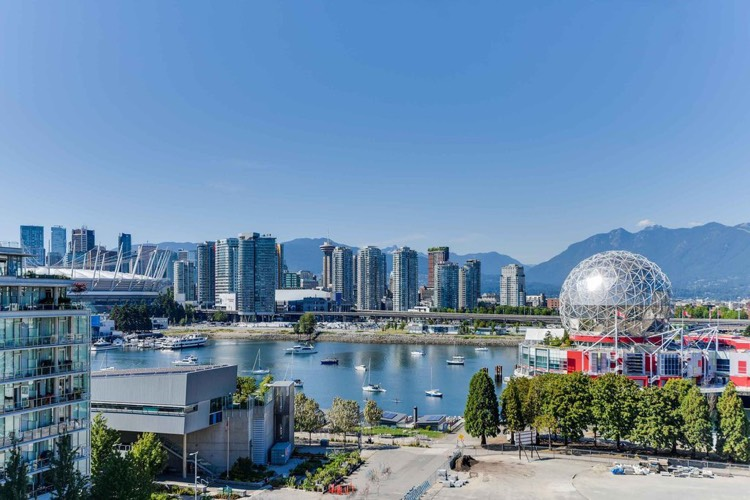 View from Navio Olympic Village Apartment Vancouver
