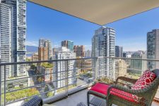 Dolce 535 Smithe Downtown Vancouver Balcony