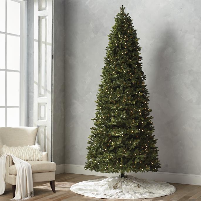Minimalist Noble Fir Christmas Tree