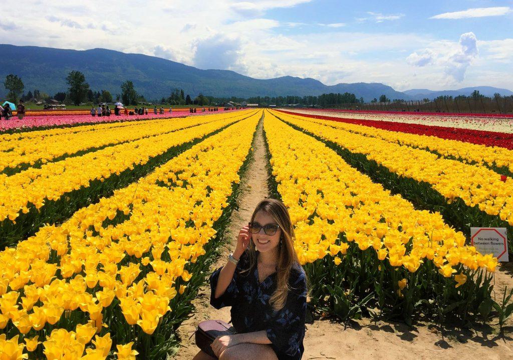 Paula in Field of Flowers