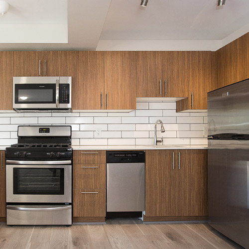 New West Apartment for Rent Kitchen