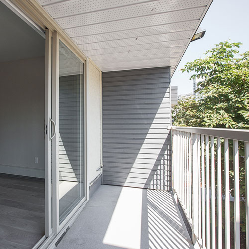 New West Apartment for Rent Balcony