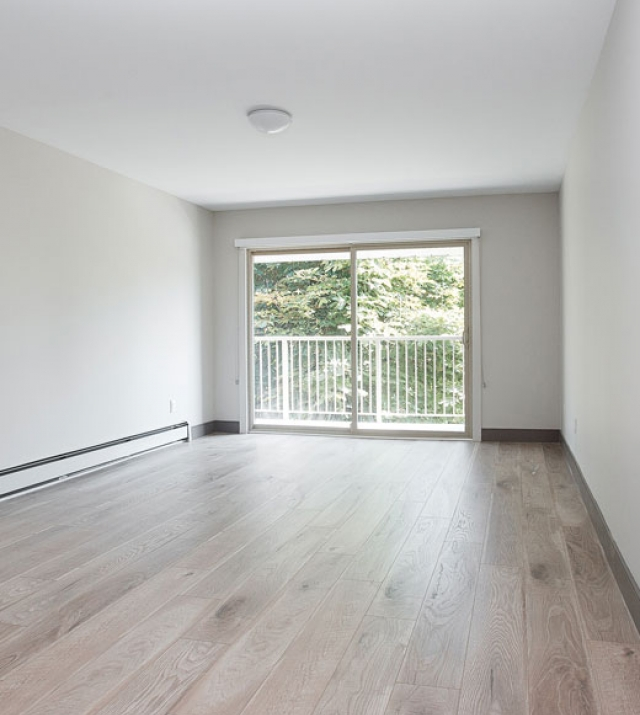 New West Apartment for Rent Living Room