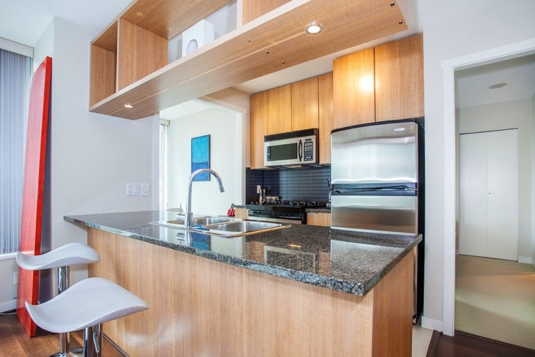 Apartment for Rent in The Gallery 1010 Richards Street Vancouver Kitchen