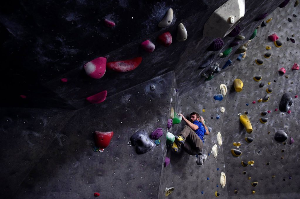Hive climbing gym Vancouver