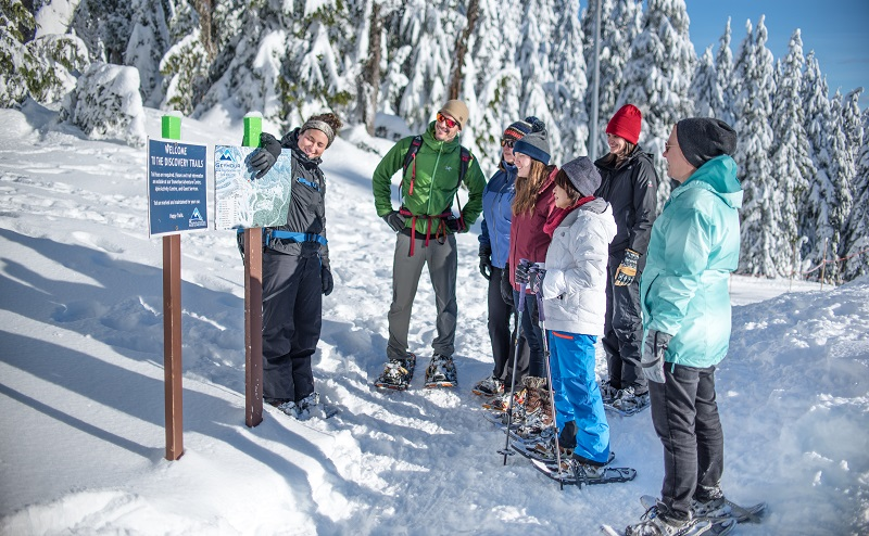 Mt Seymour snowshoe tours