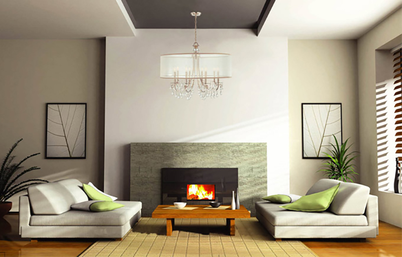 Example of Good Feng Shui Livingroom Design