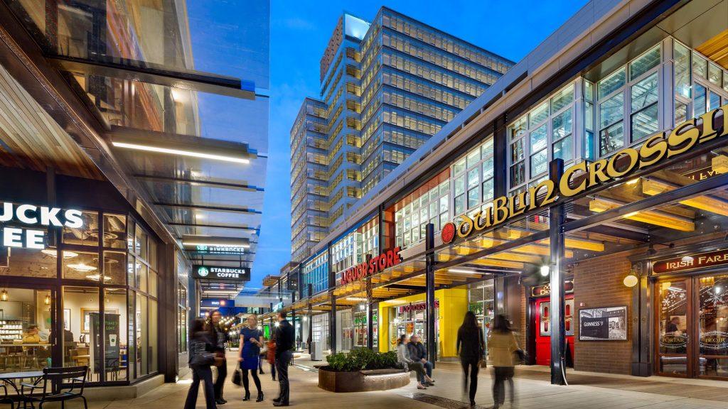 marine gateway retail near W1 luxury rental suites