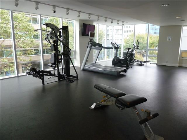 Flat Iron 1277 Melville Street Vancouver Gym