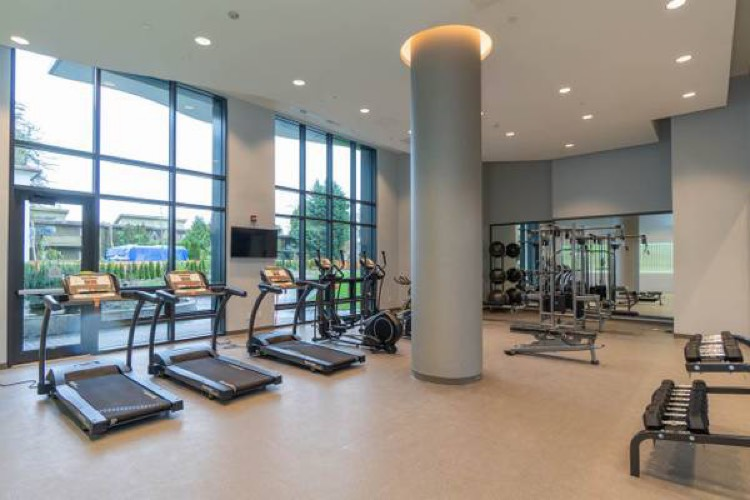 Apartment for Rent Midori 6638 Dunblane Ave Burnaby - Gym