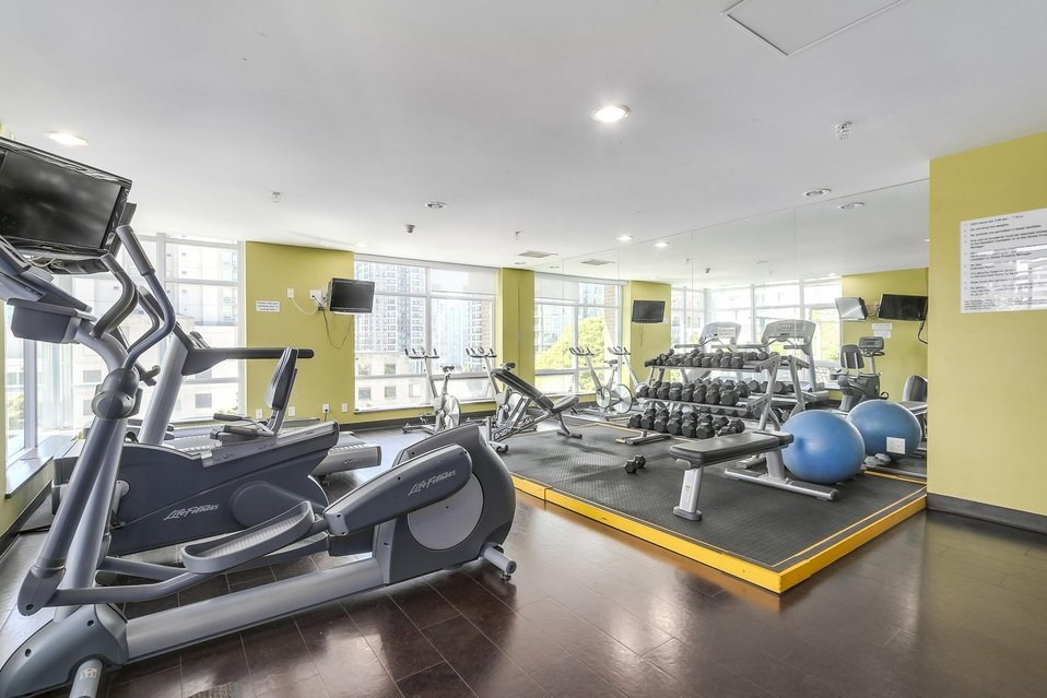 Dolce Tower Vancouver Apartments Gym