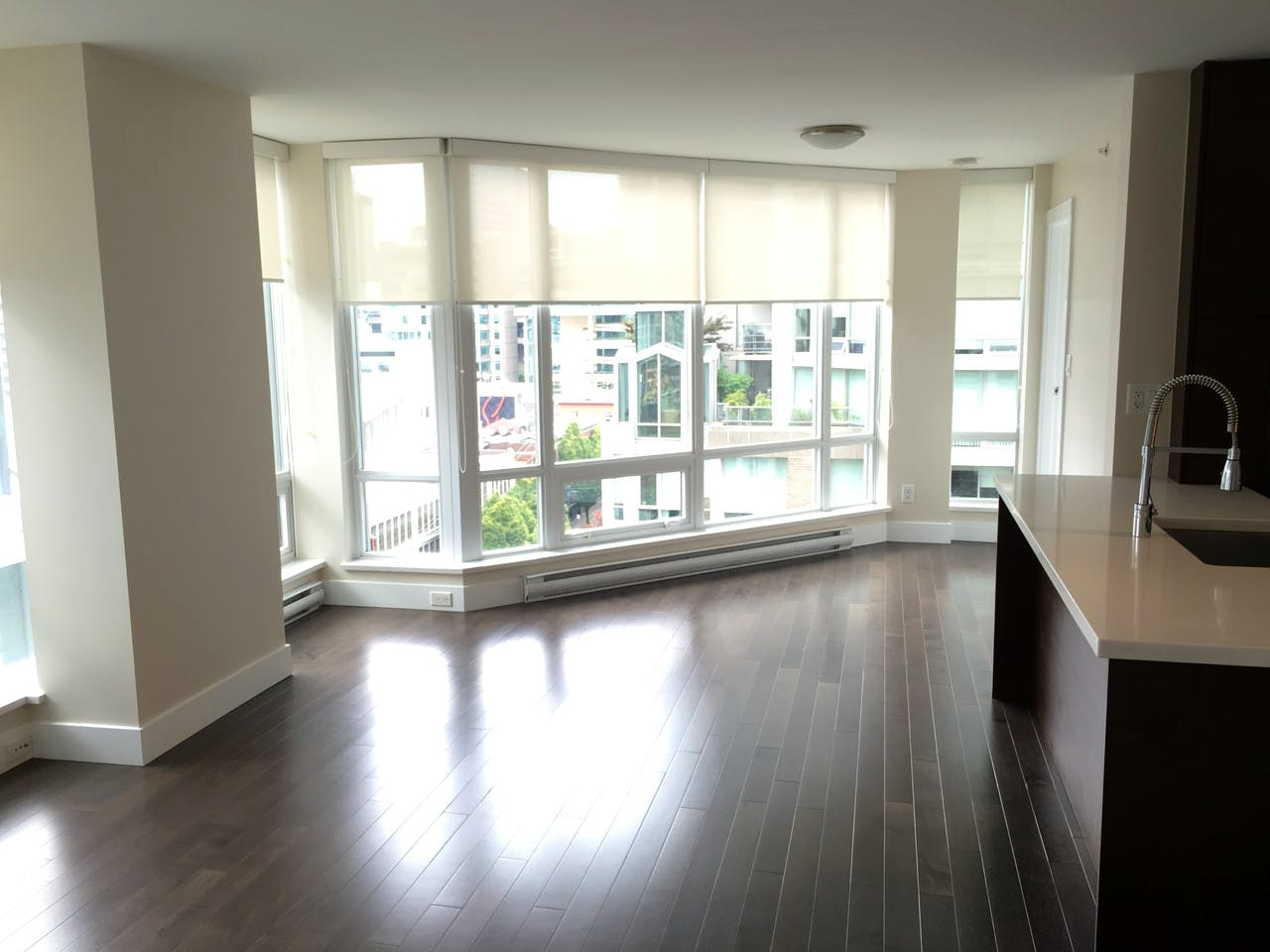 Dolce Tower Vancouver 2 Bedroom Apartment - Living Area