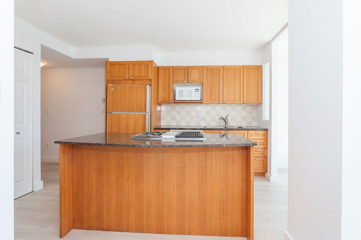 Apartment for Rent The Park Vancouver 723 Alberni Street Kitchen