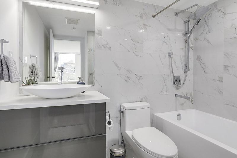 Bathroom renovation modern design